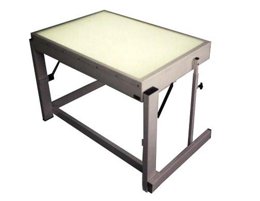 Table lumineuse pour la s rigraphie - Table de salon lumineuse ...